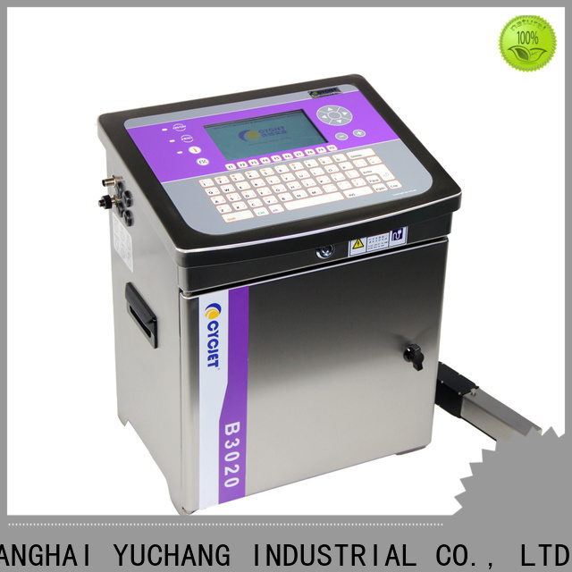 cycjet touch small character inkjet printer manufacturer for beverage