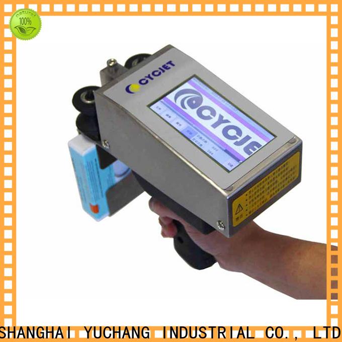 cycjet hand handheld inkjet printer for stainless steel