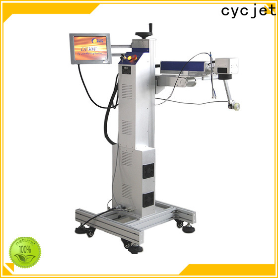 cycjet High-quality Flying Laser Printer manufacturers for plastic pipe
