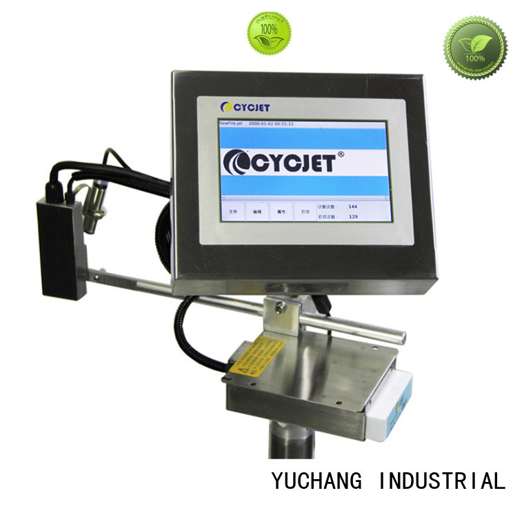 cycjet high-Resolution Inkjet Coder Suppliers for plastic film