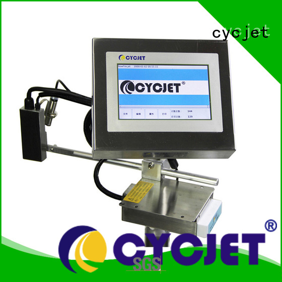 cycjet high-Resolution Inkjet Coder supplier for plastic label