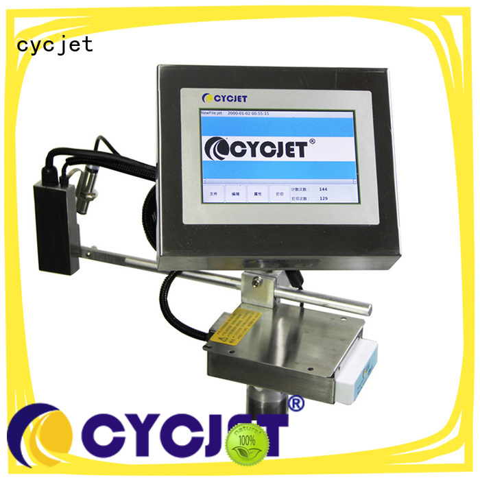 cycjet automatic inkjet coding machines for business for cartons
