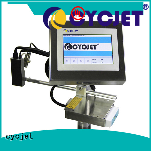 cycjet system inkjet coding machine for electric cable