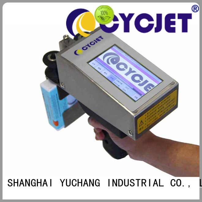 cycjet High-quality portable inkjet printer manufacturers for jewelry