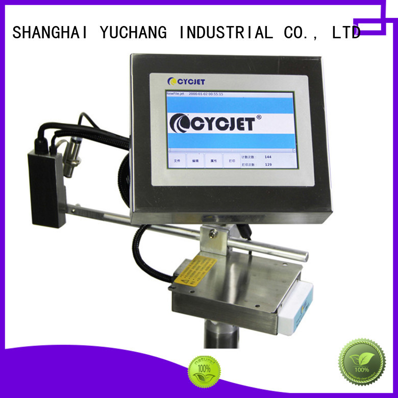 cycjet laser marking equipment factory for electric cable