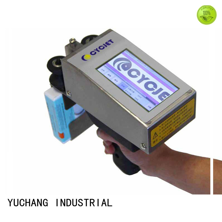 cycjet Top portable inkjet printer Supply for stainless steel