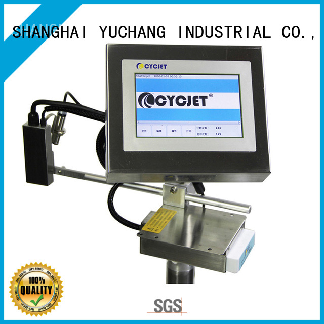 Custom flying laser marking machine system company for electric cable