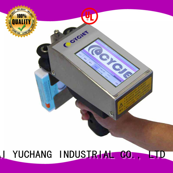 cycjet high quality inkjet coder supplier for stainless steel