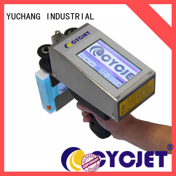 cycjet Best handheld inkjet printer manufacturers for stainless steel