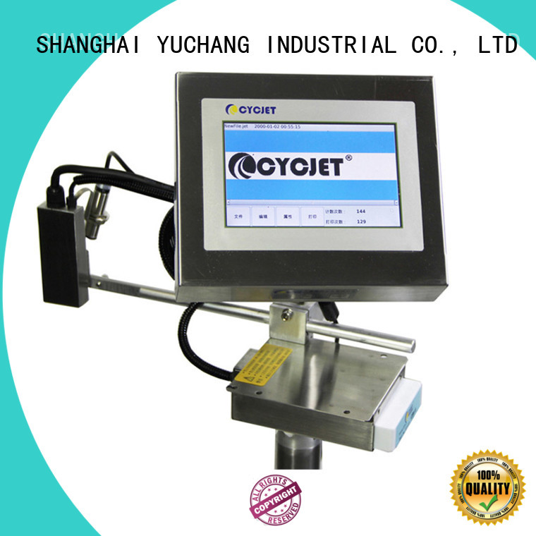 cycjet Latest inkjet coding machine for electric cable