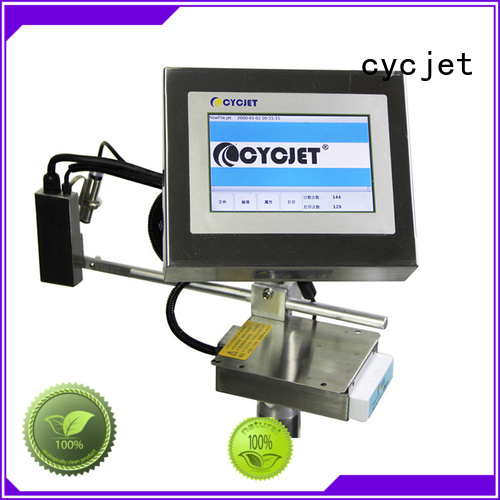 cycjet automatic inkjet coding machine company for plastic pipe
