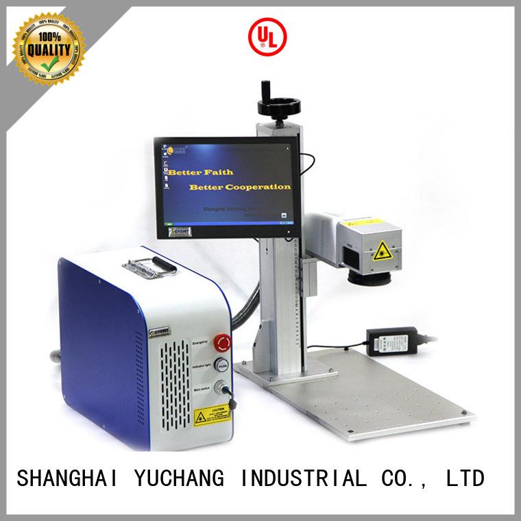 cycjet single handle laser coding machine bulk production for plastic label