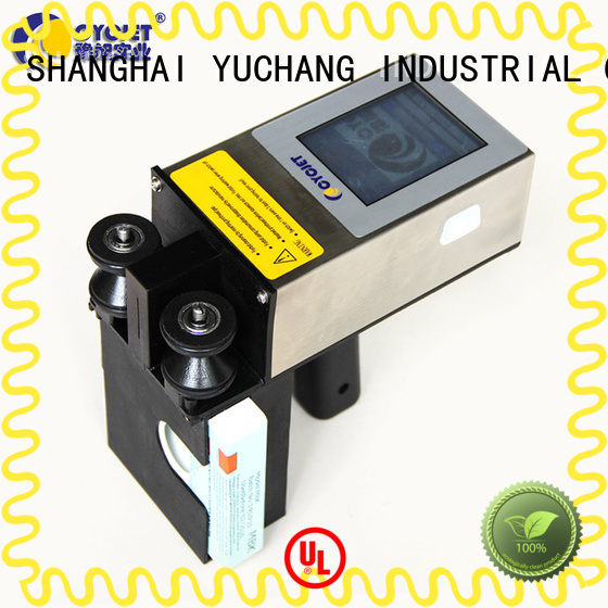 cycjet professional laser marking equipment manufacturer for plastic pipe