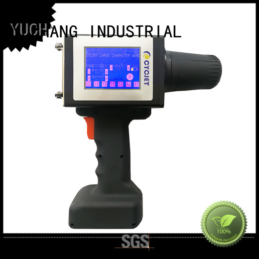 cycjet touch screen large character inkjet printer industry for steel structure