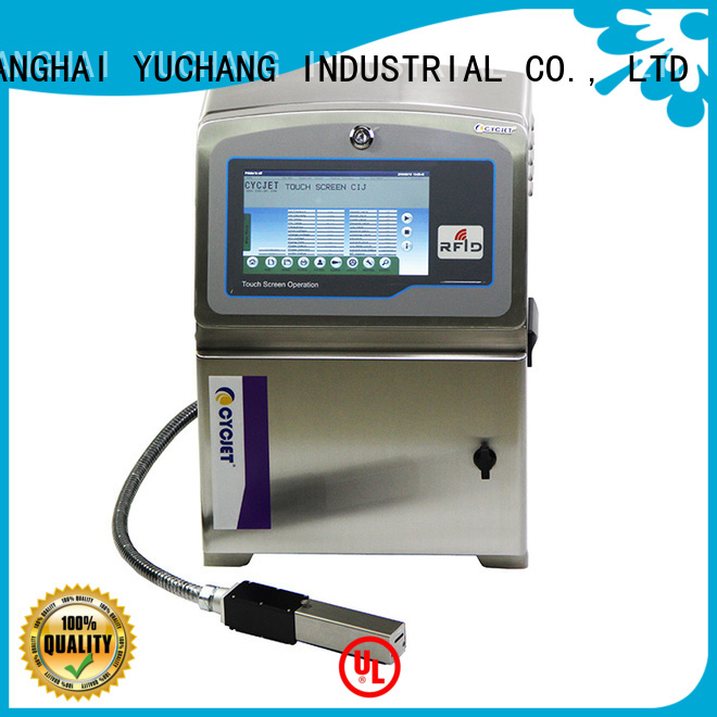 cycjet small character inkjet printer supplier for pipes
