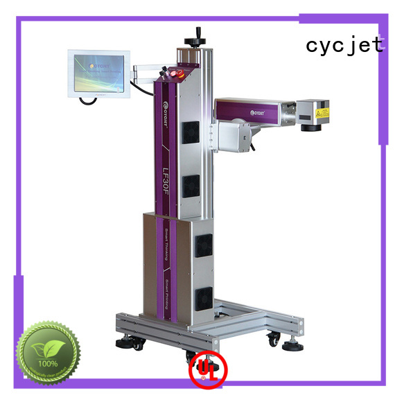 cycjet hose UV Flying Laser Printer for business for food package