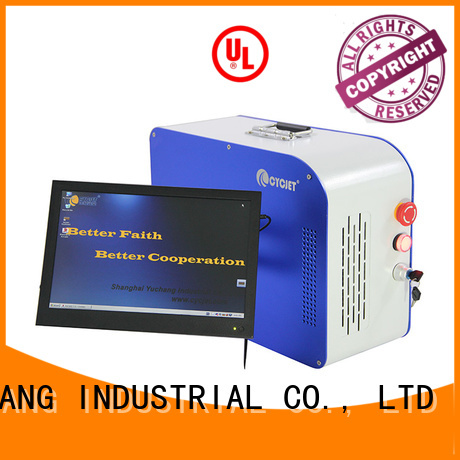 high technology handheld laser marker supplier for large character printing