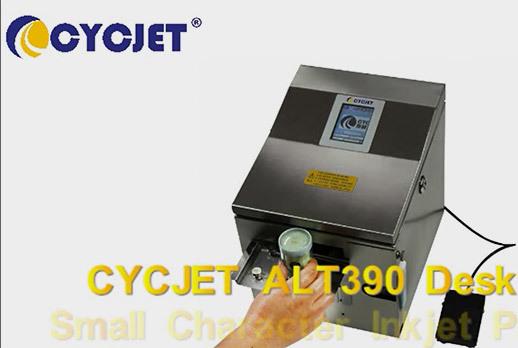 Desktop Small Character Inkjet Printer CYCJET ALT390
