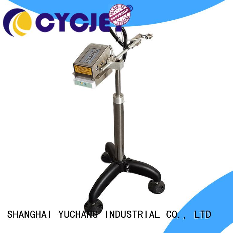cycjet c700 Portable inkjet printer factory for plastic label