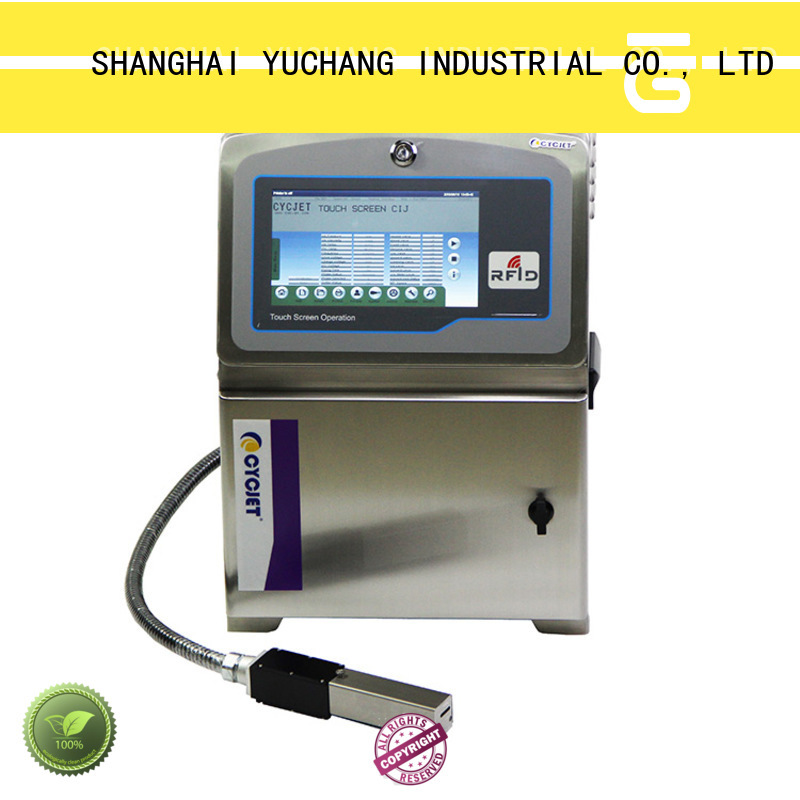 cycjet small character inkjet printer industry for beverage