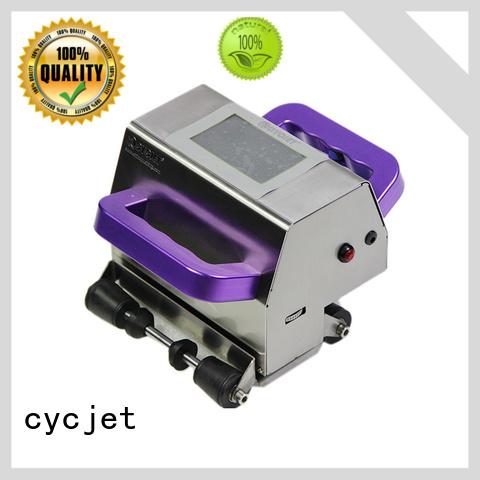 cycjet latest handheld inkjet printer supplier for jewelry