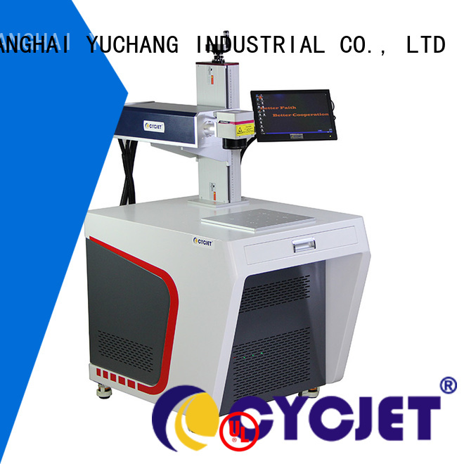 cycjet metal marking machine for business for plastic label