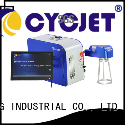 Top metal marking machine marking Supply for plastic label