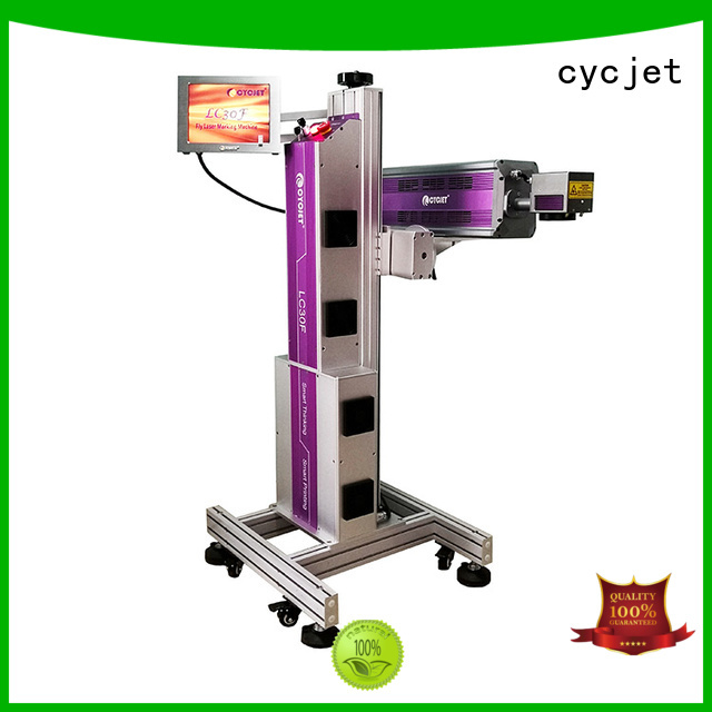 cycjet New laser marking machine manufacturers for plastic pipe