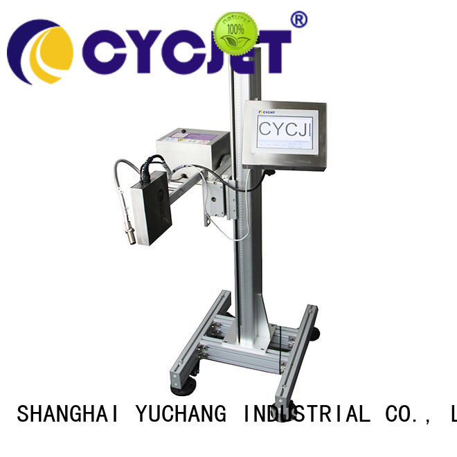 cycjet ink system high-Resolution Inkjet Coder industry for plastic label