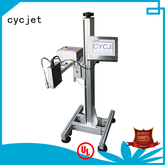 cycjet printer continuous inkjet printer manufacturers Supply for plastic film