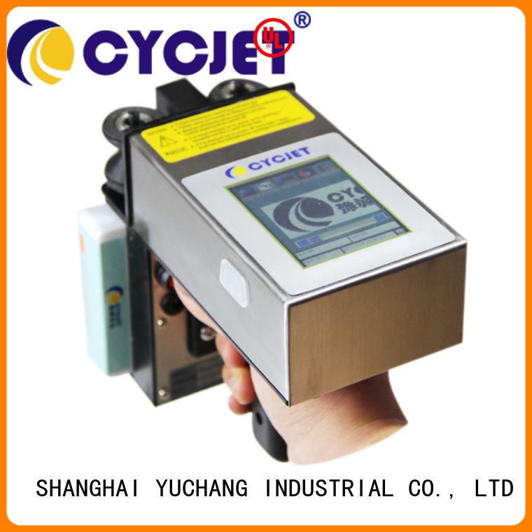 Custom handheld inkjet printer alt360pro for stainless steel