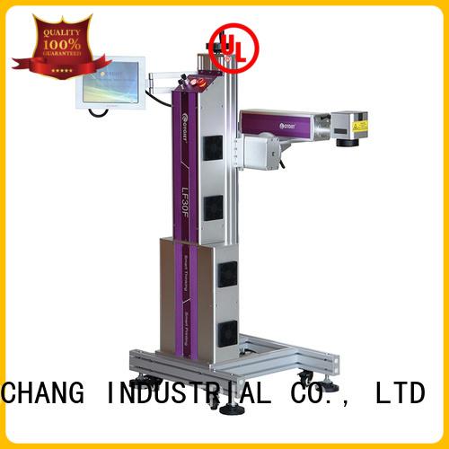 professional flying laser marking machine manufacturer for food package