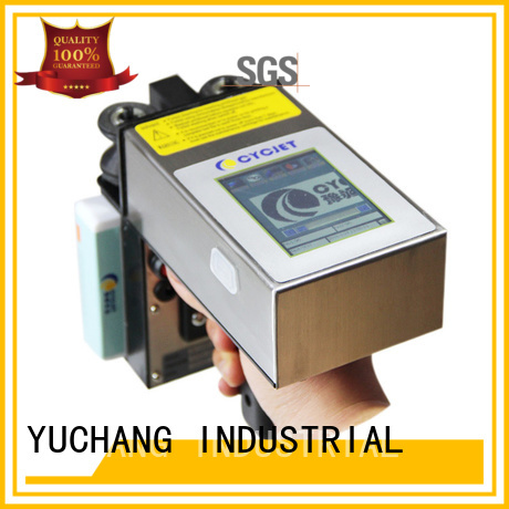 cycjet Best handheld inkjet printer factory for plastic tags