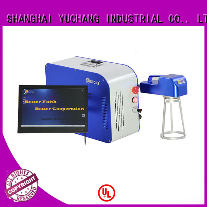 cycjet laser metal marking machine factory for carton package