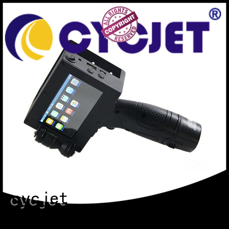cycjet printer tij automatic printer factory for plastic pipe