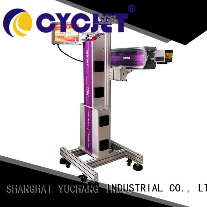 cycjet Latest laser marking machine manufacturers for business for food package