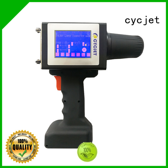 cycjet Latest industrial label printer Supply for steel structure