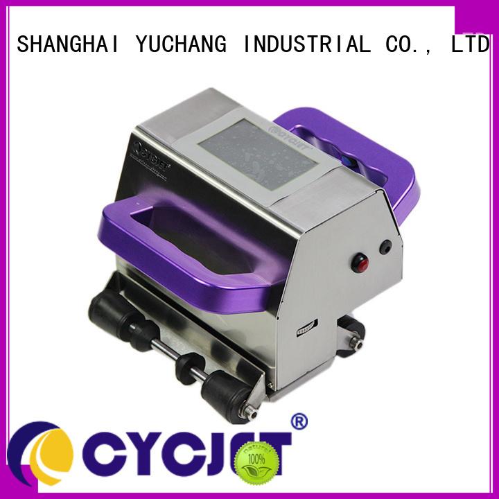 cycjet handheld inkjet printer on-sale for stainless steel