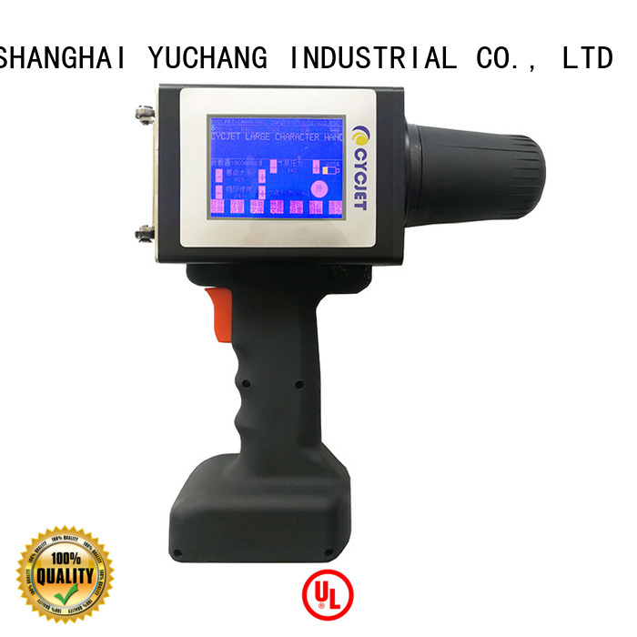 large character inkjet printer model company for steel structure