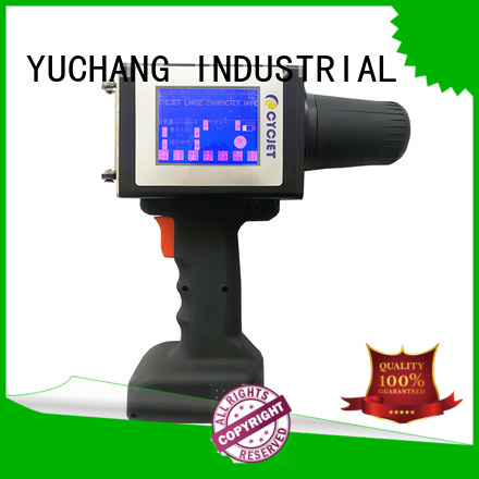 cycjet large character inkjet printer at discount for plastic pipe