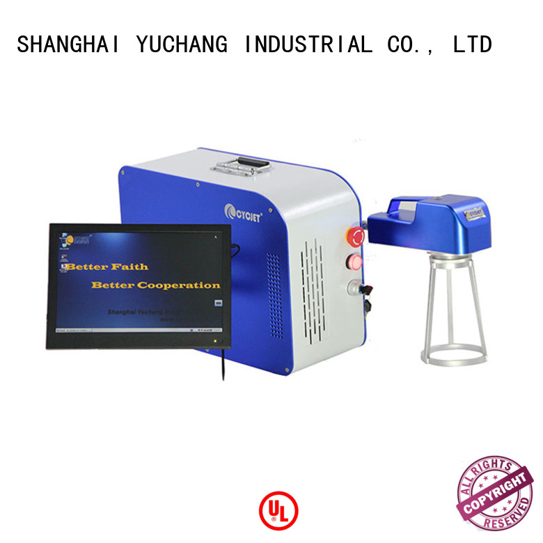 cycjet uv Laser Coding Machinery Suppliers for plastic label
