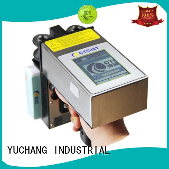 cycjet screen handheld inkjet printer supplier for plastic tags