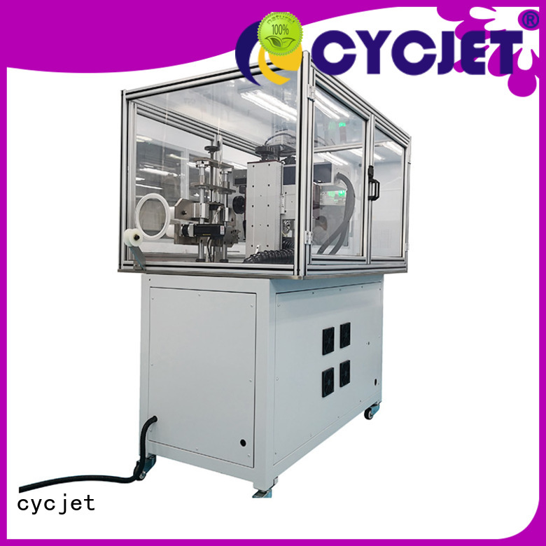 cycjet flying laser marking machine manufacturer for electric cable