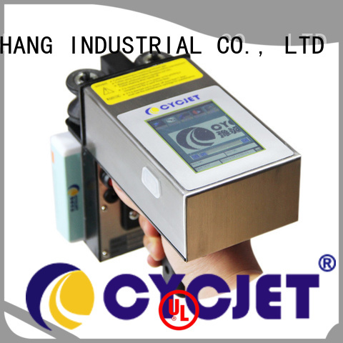 Custom inkjet coder handheld manufacturers for plastic tags