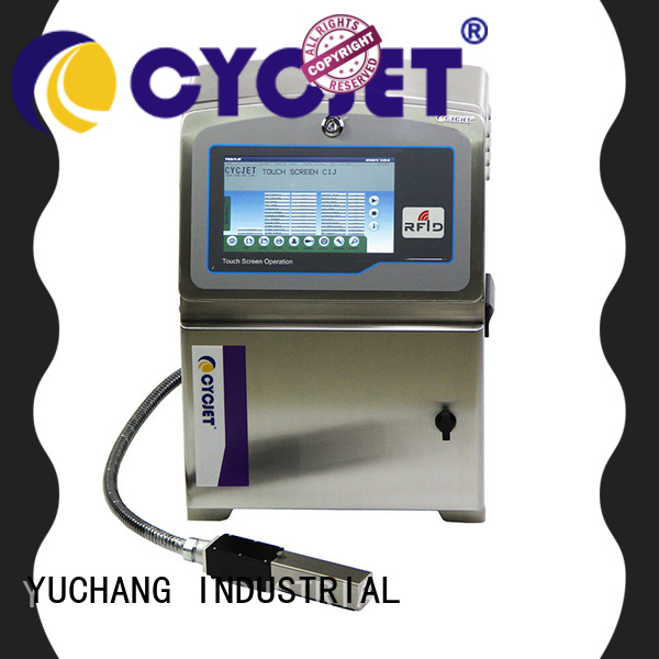 cycjet screen controller small character inkjet printer at discount for wine