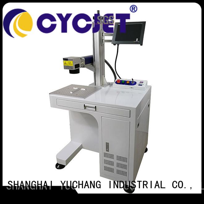 cycjet single handle laser coding machine bulk production for carton package