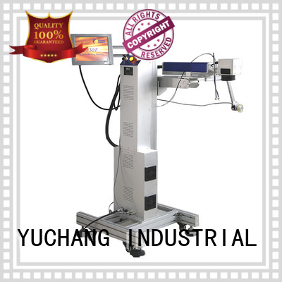 Top laser marking machine silicone company for plastic pipe
