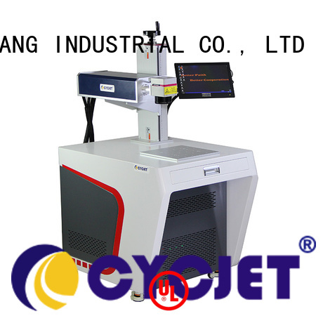 cycjet New metal marking machine manufacturers for plastic label