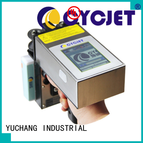 cycjet Latest portable inkjet printer company for stainless steel