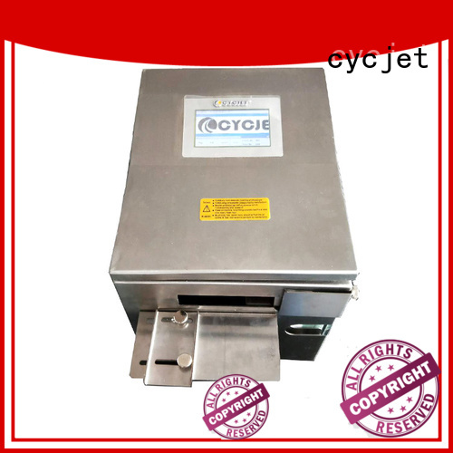 cycjet telescopic arm high-Resolution Inkjet Coder supplier for carton package
